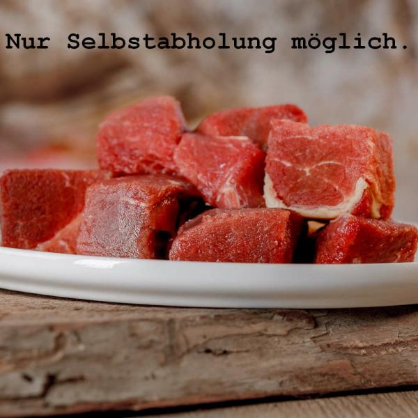 Barfgold Pferdefleisch 5kg (gewürfelt)