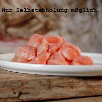 Barfgold Hühnermuskelfleisch 5kg (gewürfelt)