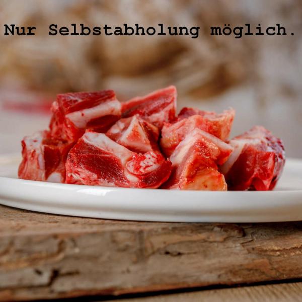 Barfgold Kehlkopf vom Rind (gewürfelt)