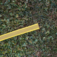 Gummierte Nylonleine 10m ohne Handschlaufe