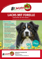 Adult Lachs mit Forelle, Kartoffel und Itch-Eeze®
